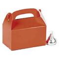 Mini Orange Treat Boxes Bulk 24 PK 3941D