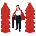 Child Costume Cape Red 27' Dozen WS4522D