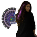 Pink Starlight Fiber Optic Hair Extensions Dozen WS6161D