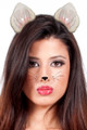 Cat Ears White Dozen Pack WS1674D