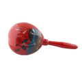 Red Mexican Wood Maracas 9298