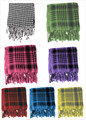 Assorted Color Arab Shemagh Houndstooth Scarf 2075Z