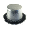 Silver Top Hat with Silver Sequin 5992A