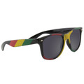 Rasta  Vintage 80 Style Sunglasses With Iconics  DOZEN 7150D