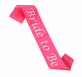Wedding Sashes, Personalized For Bridal Party, Wedding Party, Bachelorette, Prom or Homecoming