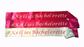 Bachelorette Party Sash, Customized for Bachelorette & Parties