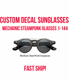 Custom Steampunk Glasses, Custom Mechanic Glasses 15057