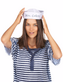 Customized Sailor Hats | Nautical Party Ideas | with your Customized Message