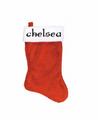 Jumbo Christmas Stocking W/ Your Custom Text