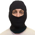 Dozen Face Mask Black One Hole 3053D