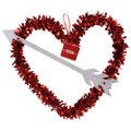 Valentine Wreath | Heart Shaped Wreath | Heart Wreath | 17004