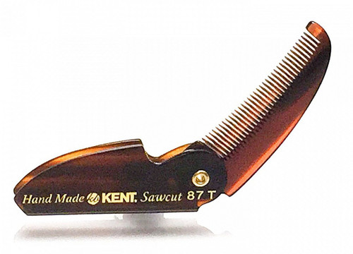 Kent Folding Beard & Moustache Comb - 87T