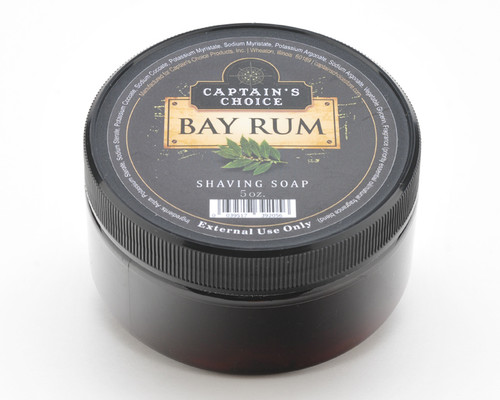 Captain's Choice BAY RUM Shaving Soap