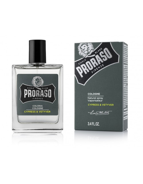 Proraso Cyrpess and Vetyver Cologne