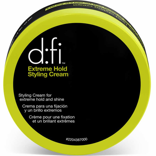"you want texture, you want hold, you want shine, you got it! try it wet or dry. work it through your hair and work your style. take your hair style ""to the edge"" with this intense new extreme-hold styling cream.HOLD FACTOR: 10"
