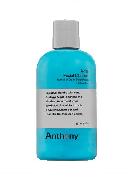 Anthony Logistics Algae Facial Cleanser