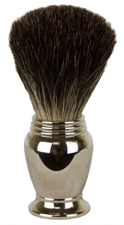 Chrome Pure Badger Brush