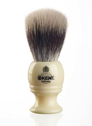 Kent Infinity Shaving Brush with Silvertex INF1