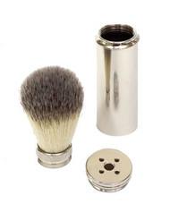 Synthetic Bristle Travel Shaving brush