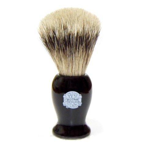Progress Vulfix Super Badger Shaving Brush - Black Handle