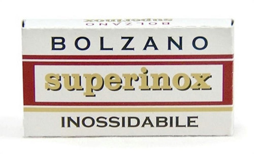Bolzano Superinox Double Edge Razor Blades 5-pack
