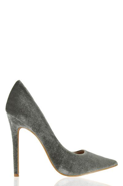 Boudoir - Grey Velvet