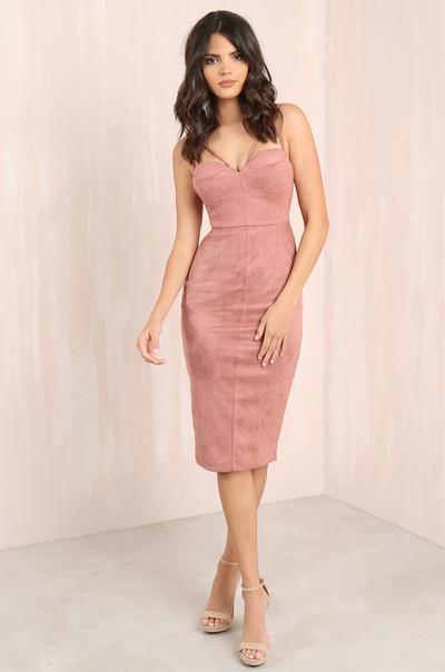 First Date Dress - Mauve