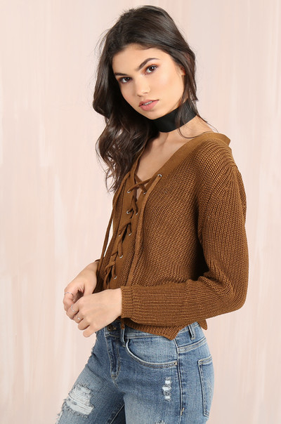 Knit To Remember Sweater - Tan
