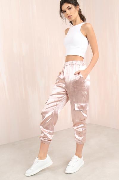 Sweet Walk Pants- Blush