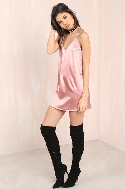 Sleeker Than You Dress - Mauve