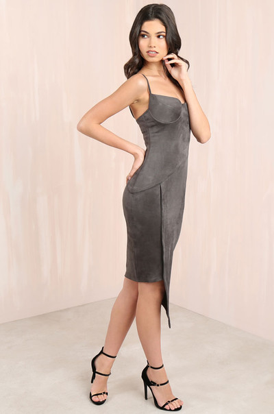 Get Me Bodied Dress - Grey