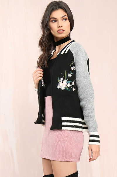 Fleur You Jacket - Black