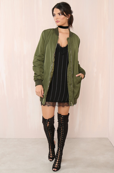Chill Out Jacket - Olive
