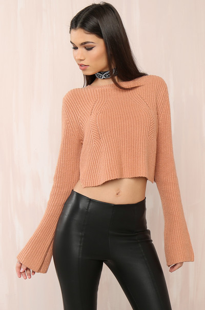 Season Hit Sweater - Dusty Blush