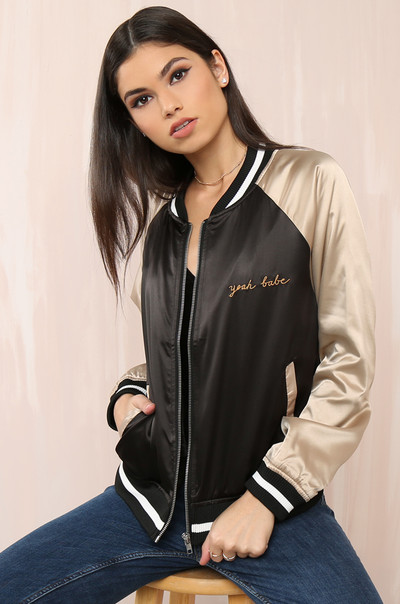 Total Babe  Jacket - Black