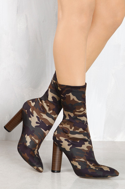 Boot-y Camp - Nude Camouflage