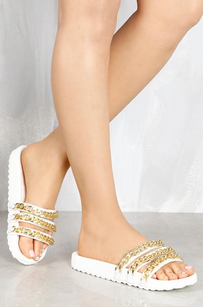 Gold Minded - White