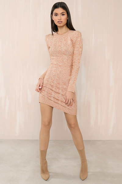 Come Closer Dress - Blush