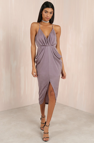 In The Spotlight Dress - Dusty Lavender