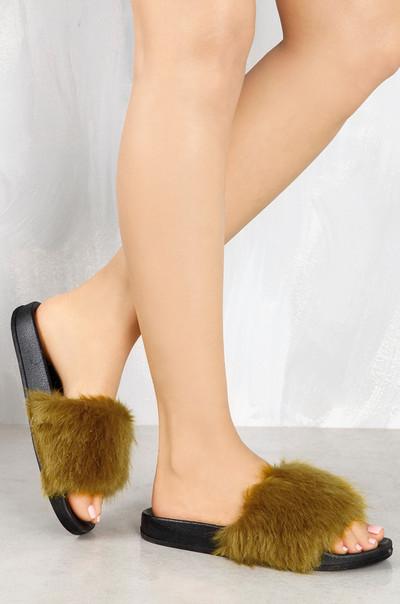 Fur-Style - Olive