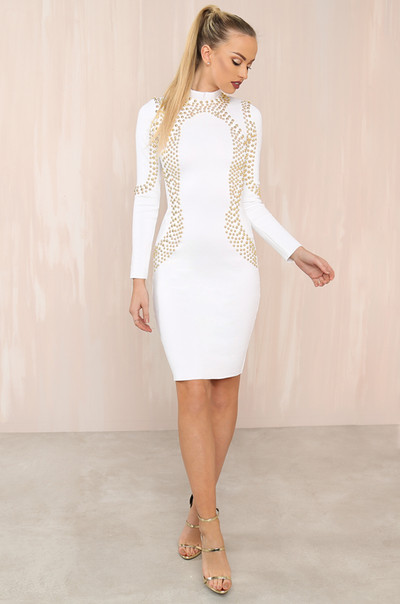 Forbidden Dress - White