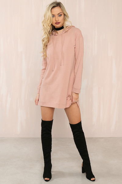 Game On Dress - Blush