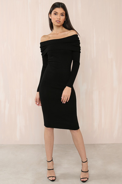 Off Topic Dress - Black