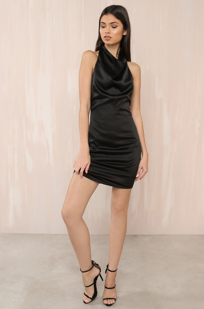 Highs & Lows Dress - Black