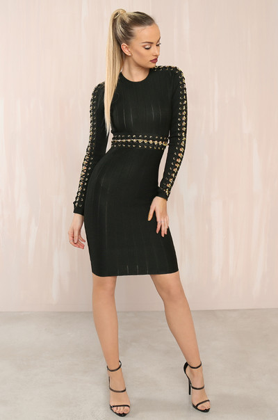 The Glitz Dress - Black