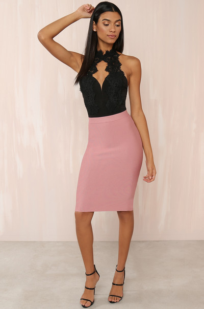 Baby Got Back Skirt - Mauve