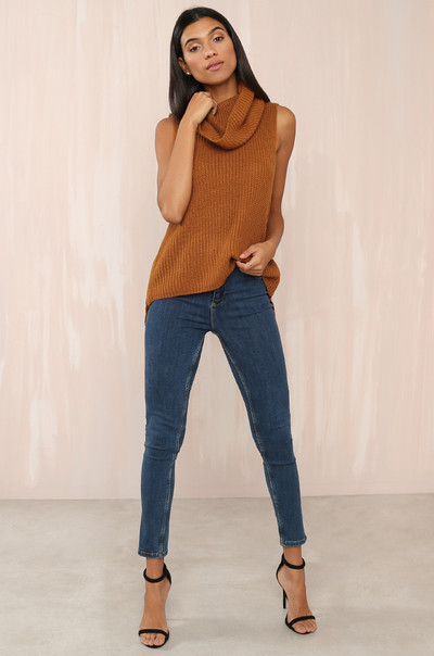 Zip It Knit - Rust