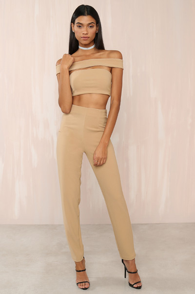 She's Got It Jumpsuit - Nude