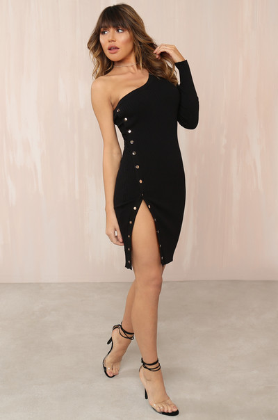Oh Snap Dress - Black