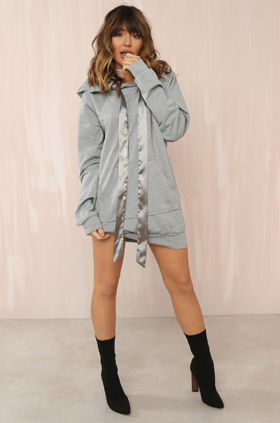 Off-Duty Dress - Grey